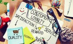 Customer loyalty, satisfaction, quality and service
